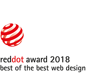 red dot award 2018: best of best web design
